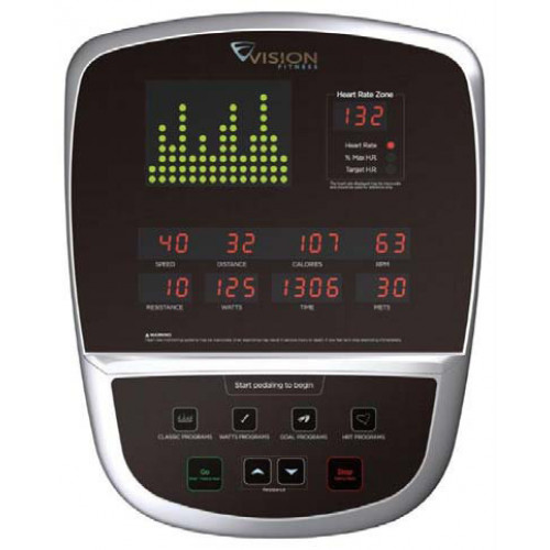 Maszyna eliptyczna Vision Fitness S60 (2)
