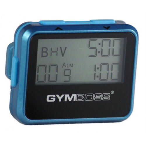 Zegar / stoper interwałowy GYMBOSS (niebieski) (1)