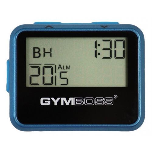 Zegar / stoper interwałowy GYMBOSS (niebieski) (2)
