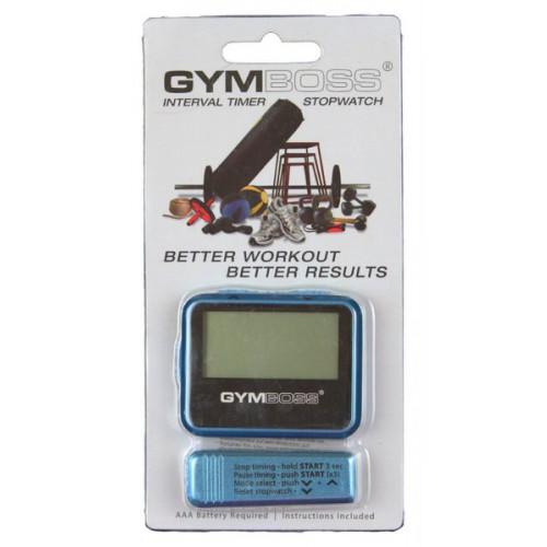 Zegar / stoper interwałowy GYMBOSS (niebieski) (5)