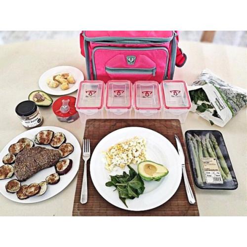 Pojemnik na posiłek 1000 ml - Lunch Box - FITMARK (1)