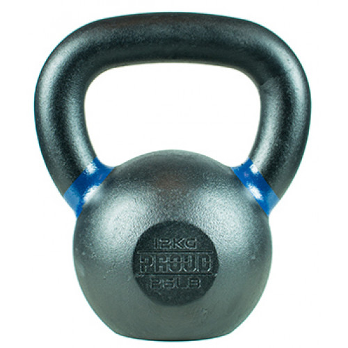 Hantla żeliwna kettlebell TOP TRAINING 12 kg - PROUD (2)