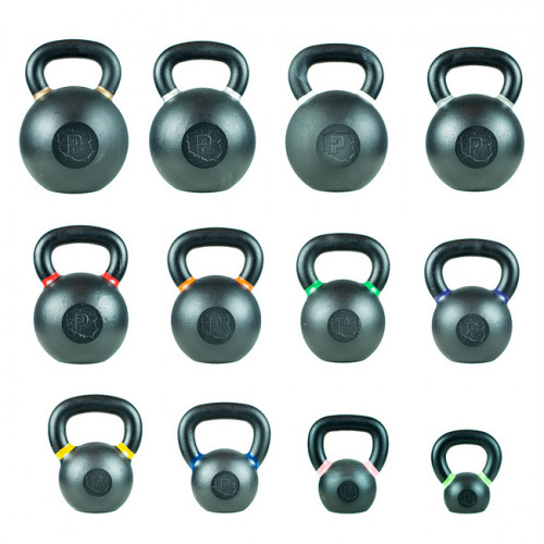Hantla żeliwna kettlebell TOP TRAINING 20 kg - PROUD (3)