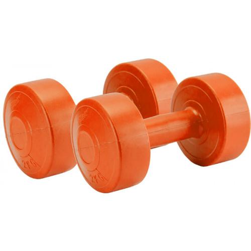 Hantle kompozytowe 2 x 1 kg Allright (pomarańczowe) (1)