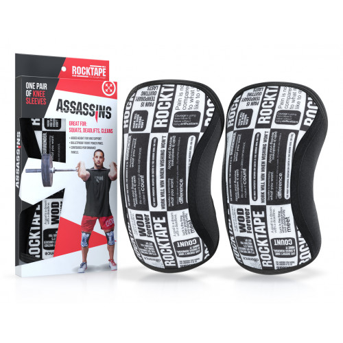 Stabilizatory na kolana Assassins Knee Sleeves 7mm - ROCKTAPE (Manifesto) (1)