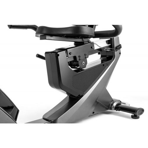 Rower elektryczno magnetyczny leżący HS-070L Helix z IConsole+ Hop Sport (szary) (6)
