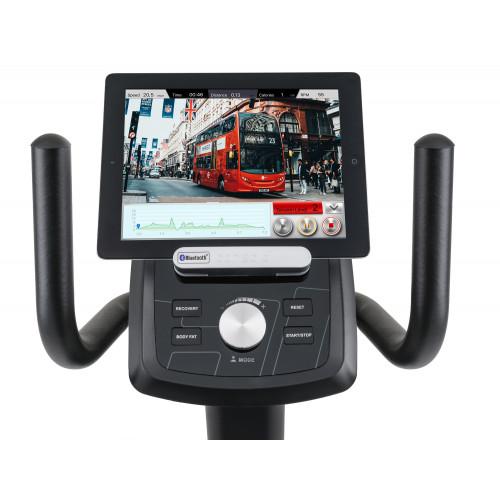 Rower elektryczno-magnetyczny leżący HS-100L Edge iConsole Hop Sport + mata (8)