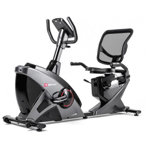 Rower elektryczno magnetyczny leżący HS-070L Helix z IConsole+ Hop Sport (szary) (2)