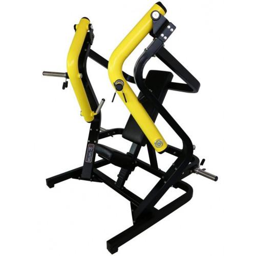 Maszyna Wide Chest Press do treningu klatki piersiowej, tricepsów i przednich naramiennych (wyciskanie szerokie) GOLD LINE (1)
