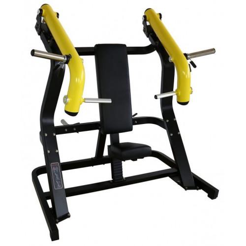 Maszyna Incline Chest Press do treningu górnych mięśni klatki piersiowej i ramion GOLD LINE (2)