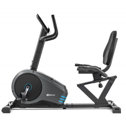 Rower leżący HS-050L Hawk Hop Sport (szaro-niebieski) (3)