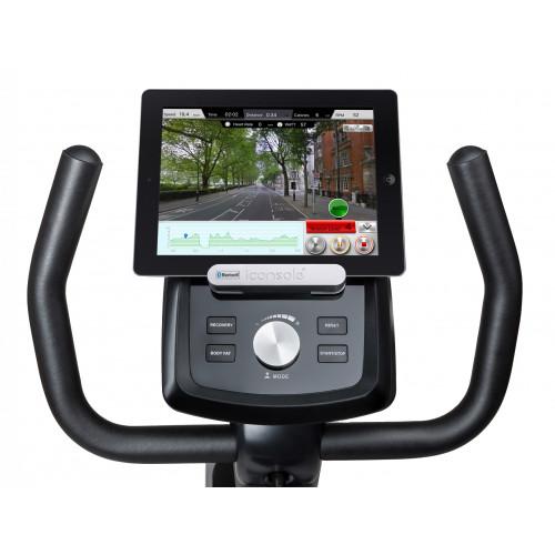 Rower elektryczno magnetyczny leżący HS-070L Helix z IConsole+ Hop Sport (szary) (11)