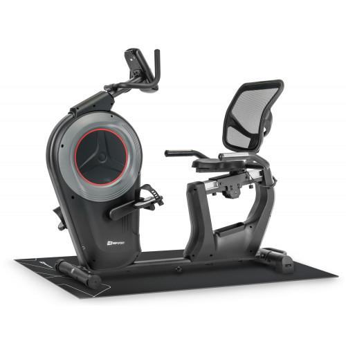 Rower elektryczno-magnetyczny leżący HS-100L Edge iConsole Hop Sport + mata (5)