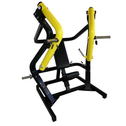 Maszyna Wide Chest Press do treningu klatki piersiowej, tricepsów i przednich naramiennych (wyciskanie szerokie) GOLD LINE (2)
