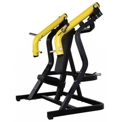 Maszyna Incline Chest Press do treningu górnych mięśni klatki piersiowej i ramion GOLD LINE (1)