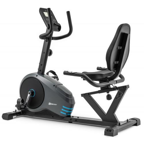 Rower leżący HS-050L Hawk Hop Sport (szaro-niebieski) (2)