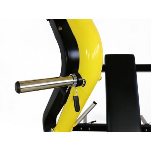Maszyna Wide Chest Press do treningu klatki piersiowej, tricepsów i przednich naramiennych (wyciskanie szerokie) GOLD LINE (6)