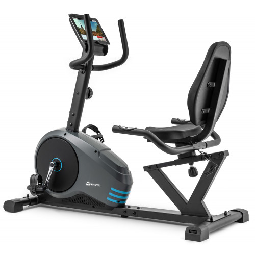 Rower leżący HS-050L Hawk Hop Sport (szaro-niebieski) (1)