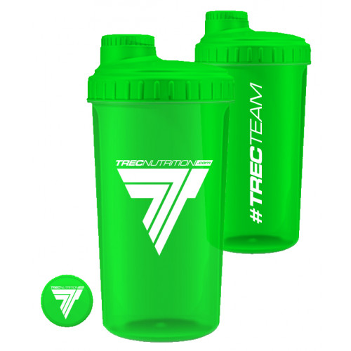 Trec - SHAKER plastikowy TREC TEAM - 0,7 l (zielony) (1)