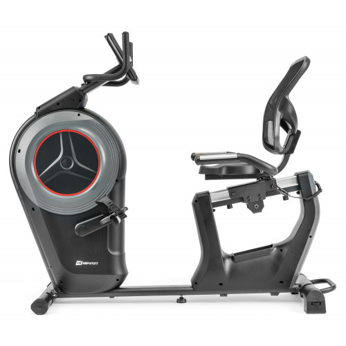 Rower elektryczno-magnetyczny leżący HS-100L Edge iConsole Hop Sport + mata (3)