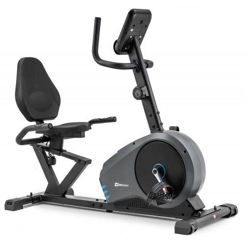 Rower leżący HS-050L Hawk Hop Sport (szaro-niebieski) (4)