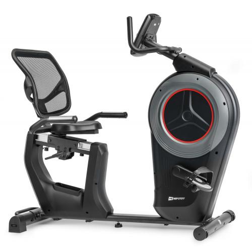 Rower elektryczno-magnetyczny leżący HS-100L Edge iConsole Hop Sport + mata (6)