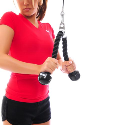 Uchwyt do tricepsu 820TR 60 cm - TKO (2)