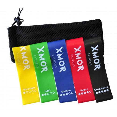 MINI BANDS zestaw gum oporowych XMOR (4)