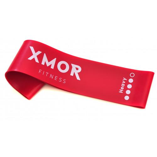 Guma oporowa MINI BAND ciężka XMOR (czerwona) (1)
