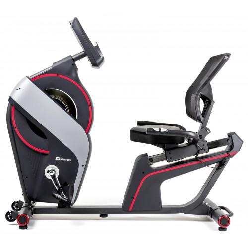 Rower elektryczno-magnetyczny leżący HS-200L Dust iConsole+ Hop Sport  (2)