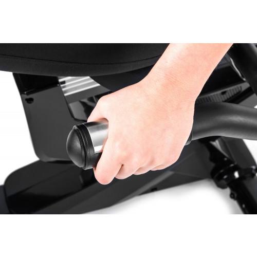 Rower elektryczno magnetyczny leżący HS-070L Helix z IConsole+ Hop Sport (szary) (7)