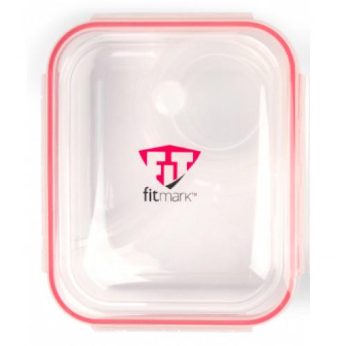 Pojemnik na posiłek - Bento Box - FITMARK (3 przegródki + pojemniczek)  (2)