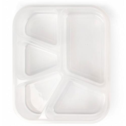 Pojemnik na posiłek - Bento Box - FITMARK (5 przegródek)  (3)