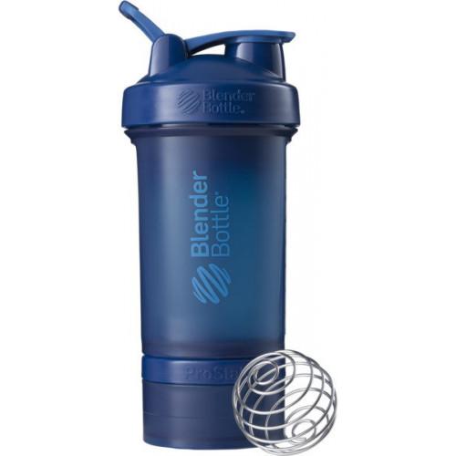 SHAKER PROSTAK - 650ml Blender Bottle (navy) (1)