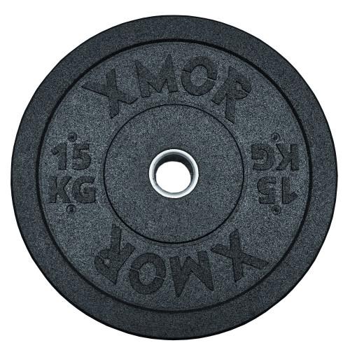 Obciążenie do sztangi BUMPER PLATES 15 kg XMOR (1)