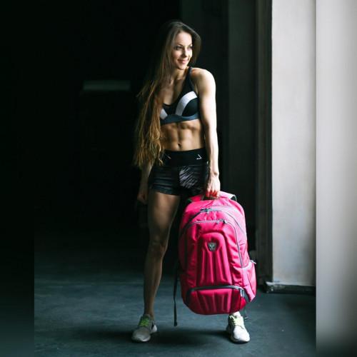 ENVOY BACKPACK FITMARK - Plecak sportowy + 2 posiłki (różowy) (8)
