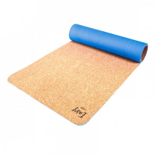 Eco mata do jogi easy korek natural blue (1)