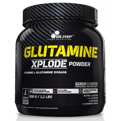 Olimp - GLUTAMINE XPLODE - 500 g (cytryna) (1)