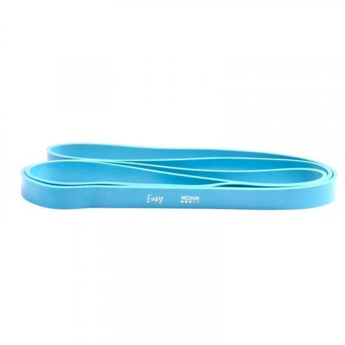 Guma POWER BAND PRO EASY FITNESS 25-65lbs blue (1)