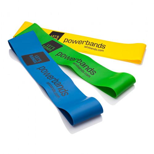 Zestaw gum POWER SET MINI - LET'S BANDS (4)