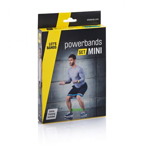 Zestaw gum POWER SET MINI - LET'S BANDS (6)