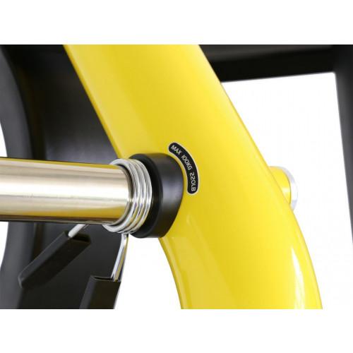 Maszyna Incline Chest Press do treningu górnych mięśni klatki piersiowej i ramion GOLD LINE (5)