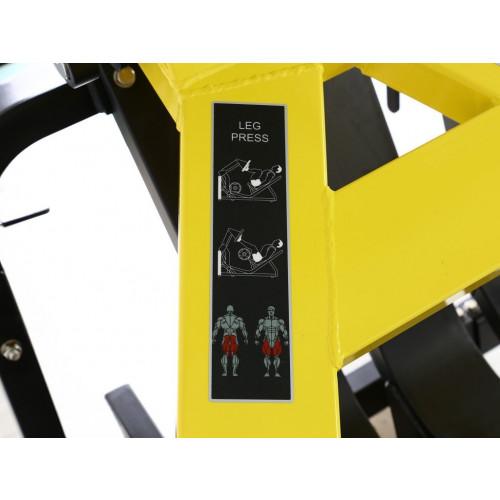 Suwnica Leg Press do treningu mięśni nóg GOLD LINE (6)
