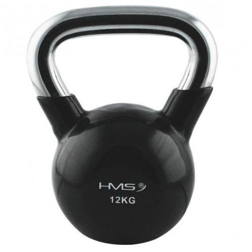 Kettlebell 12 kg HMS (czarny) (1)