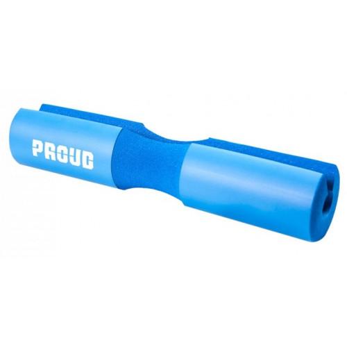 Ochraniacz na gryf BARBELL PAD SOFT - PROUD (niebieski) (1)