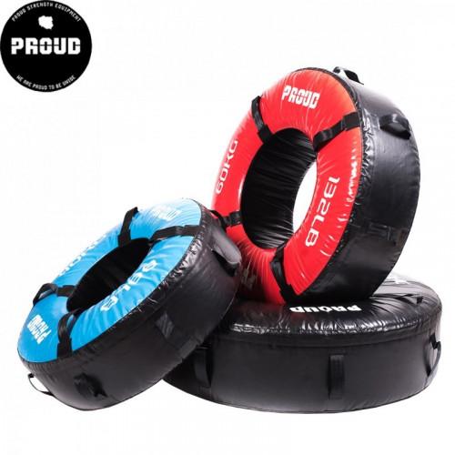Opona treningowa 60 kg - PROUD (czerwona) (5)