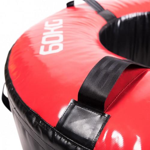 Opona treningowa 60 kg - PROUD (czerwona) (2)