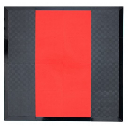Pomost do podnoszenia ciężarów PRO M PROUD (czerwony) (1)
