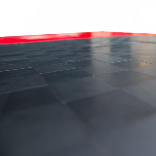 Pomost do podnoszenia ciężarów PRO M PROUD (czerwony) (4)
