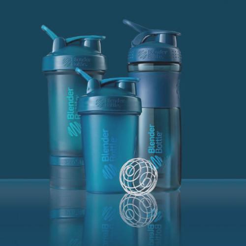 SHAKER PROSTAK - 650ml Blender Bottle (niebieski) (3)